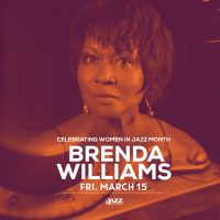 Brenda Williams presents an evening celebrating women in jazz
