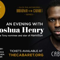 An Evening with Joshua Henry