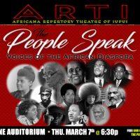 The People Speak: Voices of the African Diaspora