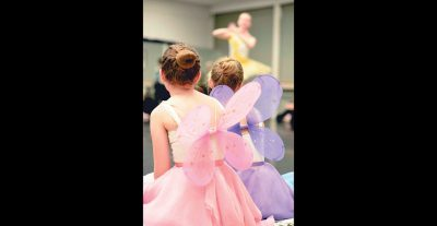 """Young dancers come """"Be a Fairy"""" in the Sleeping Beauty Ballet"""