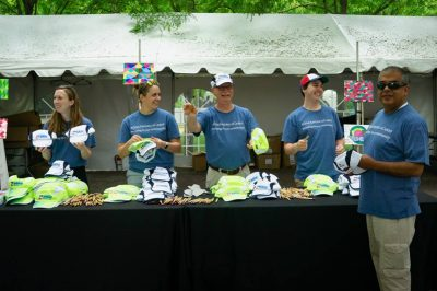 Volunteer for the OneAmerica Broad Ripple Art Fair