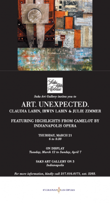 """Art. Unexpected."" Claudia Labin, Irwin Labin, &am..."