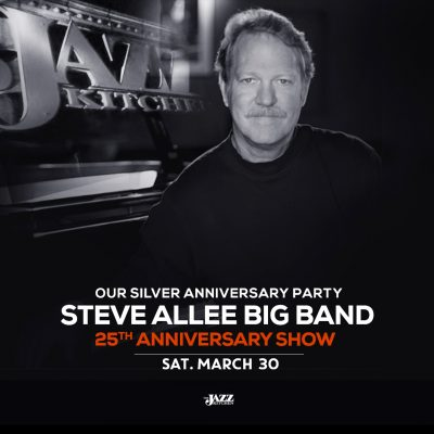 Steve Allee Big Band 25th Anniversary Show