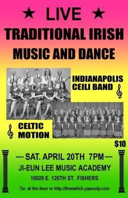 Traditional Irish Music and Dance