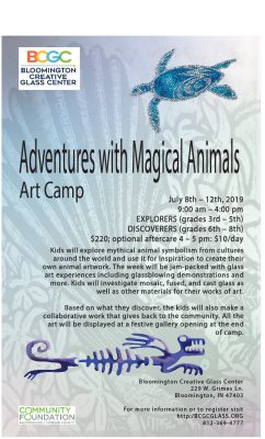 Art Camp: Adventures with Magical Animals