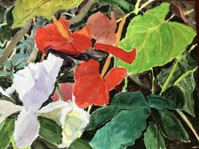"""Colors of Hawaii"" Collectors Night Open House at Villa dell'Artista"