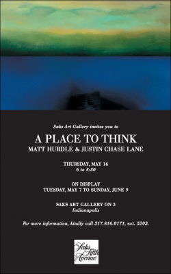 """""""A Time To Think"""" the art of Matt Hurdle and Justin Lane"""