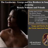 The Gershwins: Brothers in Song, Featuring Brenda Williams with special guest, Everett Greene
