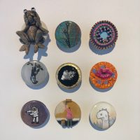 The Button Show: Tiny Wearable Art