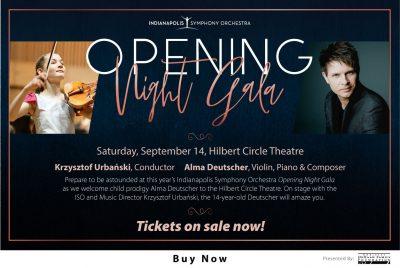 ISO Opening Night Gala