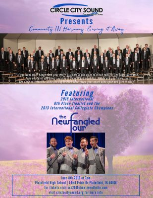 """Circle City Sound presents"""" Community IN Harmony - Giving It Away"""""""