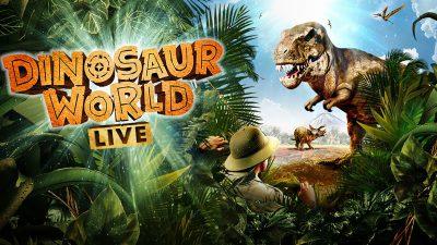 Dinosaur World Live! Matinee for School Groups