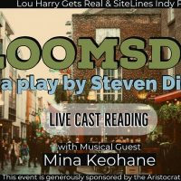 """SiteLines/Lou Harry Gets Real presents """"Bloomsday"""" by Steven Dietz"""