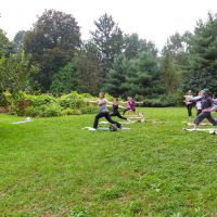 Yoga at Newfields