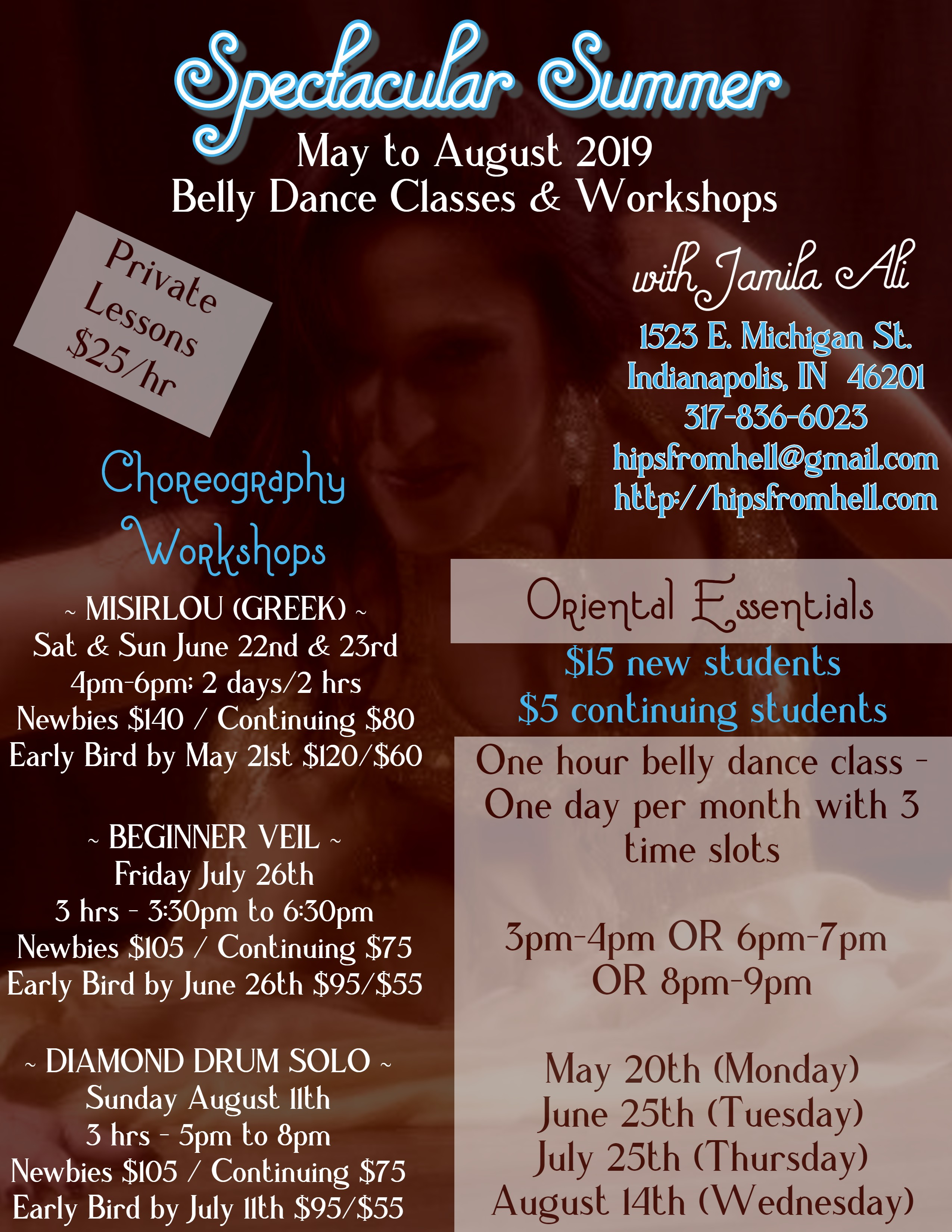 A Spectacular Summer presented by Jamila's Belly Dance Studio