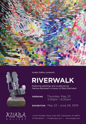 RIVERWALK, Martine Bachelart, Sculptures & Pai...