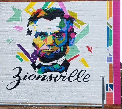 Abraham Lincoln and Zionsville
