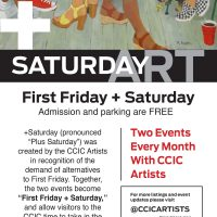 July +SATURDAYwith the Circle City Industrial Complex Artists