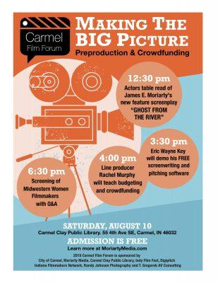 2019 Carmel Film Forum, Making the Big Picture