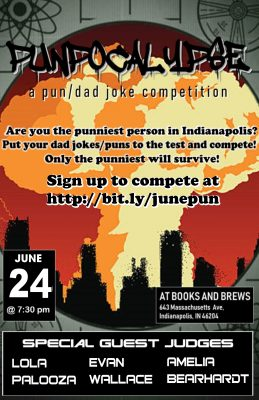 PUNpocalypse: A Pun/Dad Joke Competition