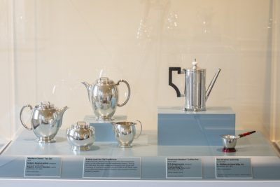 Newfields Adult Art Studio: Sketching in Dining by Design: Silver 1925-2000