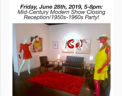 Closing Reception/ 1950s-1960s Party at 10th West Gallery