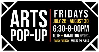 10th Street Friday Arts Pop-up