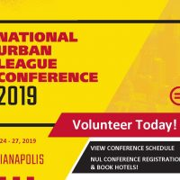 Volunteer with the National Urban League Convention