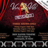 Vixen DeVille Revealed at the IndyFringe Festival!