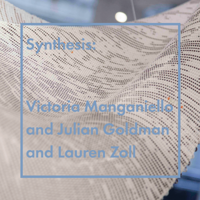 Synthesis Opening Reception featuring Victoria Manganiello, Julian Goldman, and Lauren Zoll