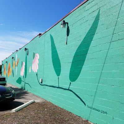 Seven Flowers Mural
