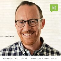 Creative Mornings: August w/ Justin Wade