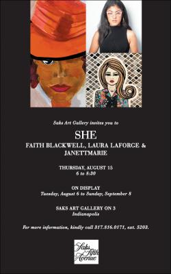 SHE by Faith Blackwell, Laura LaForge & JanettMarie