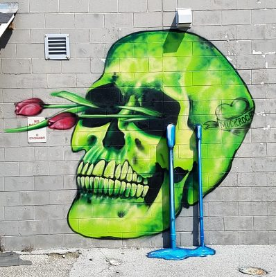 Healer mural