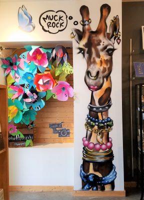 Homespun Giraffe