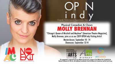 OPEN Indy Masterclasses w/Molly Brennan