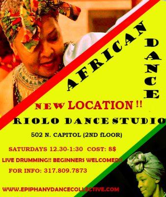 Adult African Dance Class