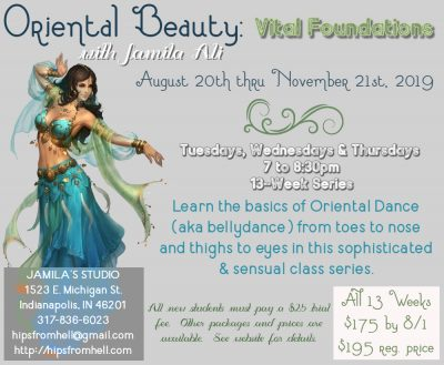 Vital Foundations (Autumn Bellydance Class Series)