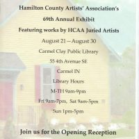 Hamilton County Artists' Association 69th Annual Exhibit