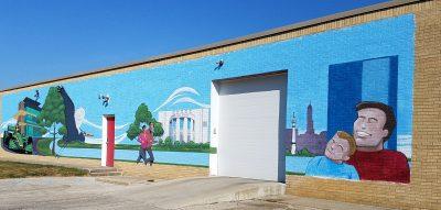 Brock Tool mural
