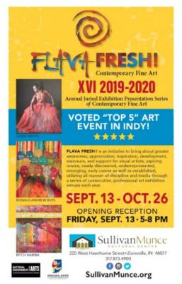 FLAVA FRESH XVI! Annual Juried Exhibition Opening ...