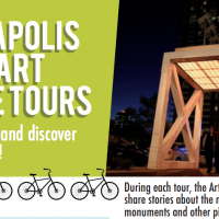 Public Art Bike Tour: IUPUI & Canal District