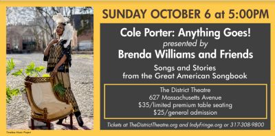 Brenda Williams and Friends: COLE PORTER: ANYTHING GOES!