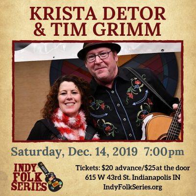Krista Detor/Tim Grimm at Indy Folk Series