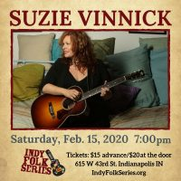 Suzie Vinnick at the Indy Folk Series