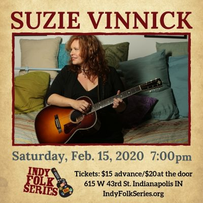 Suzie Vinnick at the Indy Folk Series