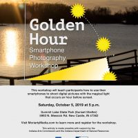2019 Golden Hour Smartphone Photography Workshop at Summit Lake State Park (Fall Session)