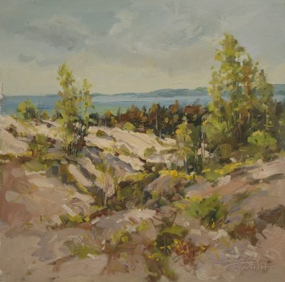 The Great North Opening Reception: Indiana Artist Painting Northern Michigan