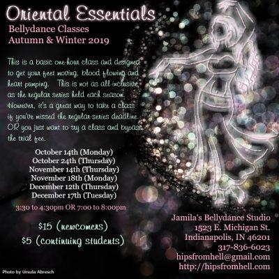 Bellydance Classes - Oriental Essentials