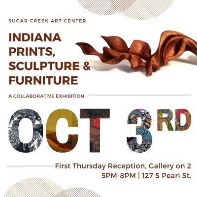 Indiana Prints, Sculpture & Furniture